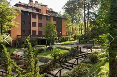 Apartamento Com 1 Dormitório À Venda, 40 M² Por R$ 490.000 - Parque Das Orquídeas - Gramado/rs - Ap0751
