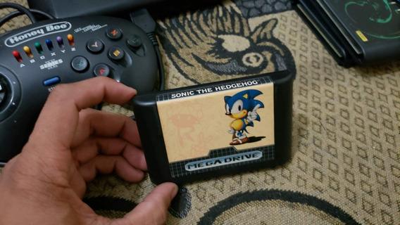 Sonic 1 Para O Mega Drive Funcionando 100% V2