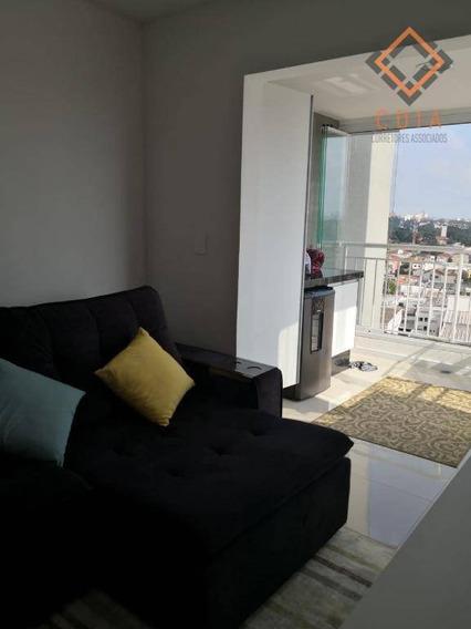 Apartamento Com 1 Dormitório À Venda, 37 M² Por R$ 455.999,00 - Santo Amaro - São Paulo/sp - Ap42466