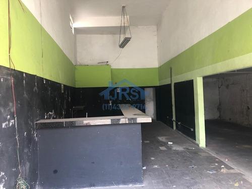 Salão Para Alugar, 100 M² Por R$ 2.000,00/mês - Jardim Dos Camargos - Barueri/sp - Sl0087