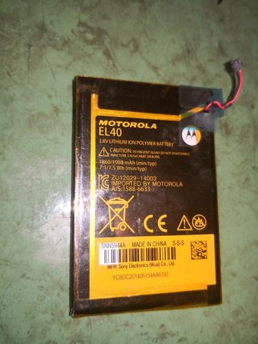 Batería Moto E Primera Generación Original