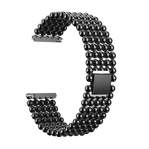 4ab1cb38db11 22mm Cinco Beads Aleación Pulseras Moda Reloj Banda Reemplaz