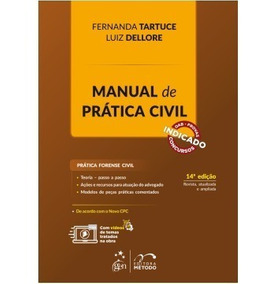 Manual De Prática Civil - Fernanda Tartuce - 2018
