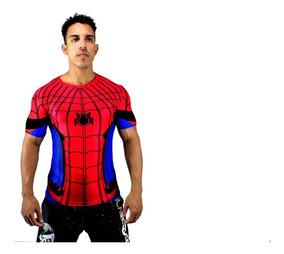 Camiseta Camisa Masculino Spider Man Herois Aranha Avengers