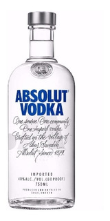Vodka Absolut 750ml. - Cuotas