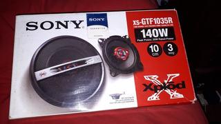 Parlantes Sony 4 Pulgadas 140 W
