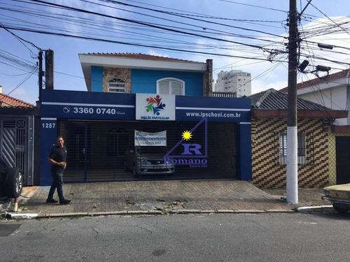 Sobrado Com 4 Dormitórios Para Alugar, 242 M² Por R$ 8.500,00/mês - Tatuapé - São Paulo/sp - So1428
