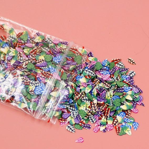 1000 Pçs / Definir 3d Prego Arte Stickers Fruta Estrela Tie