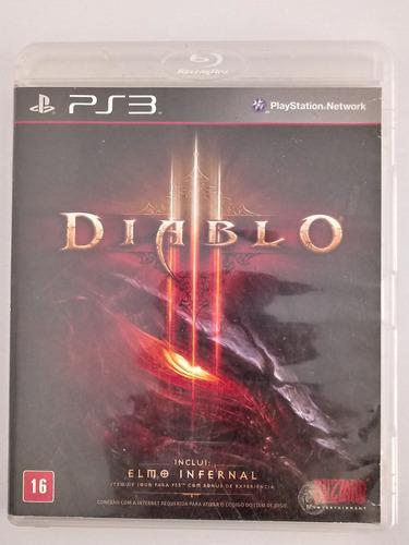Jogo Diablo 3 Original Ps3 Playstation 3 Física Dublado