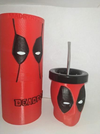 Set Mate Deadpool Impreso 3d