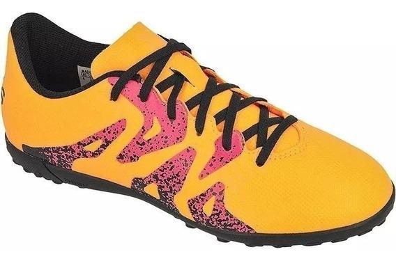 Chuteira Society adidas X15.4 In Masculina Laranja Ac Trocas