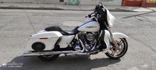 Harley Davidson Street Glide 2014 Nacional Tpagado Fullequip