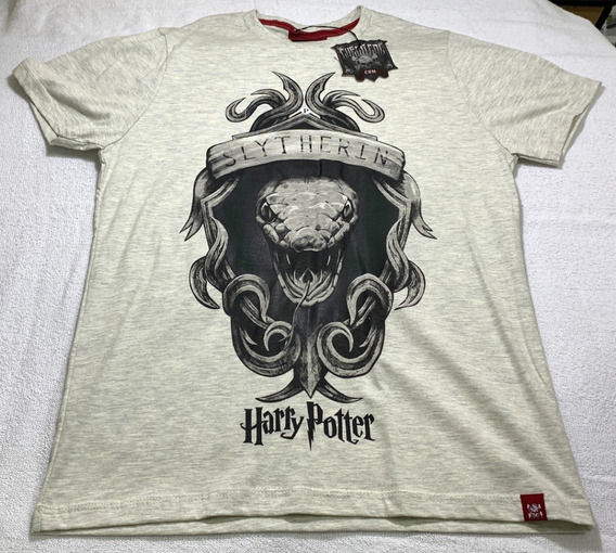 Camiseta Harry Potter - Brasão Sonserina