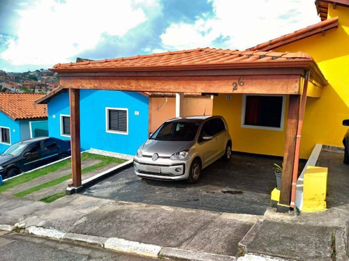 Casa Com 2 Dormitórios À Venda, 60 M² Por R$ 265.000 - Jardim Carolina - Itaquaquecetuba/sp - Ca0724