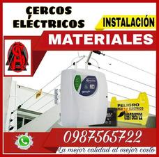 Material Cerco Electrico