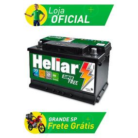 Bateria De Carro Heliar Super Free - 75 Amperes - Hf75pd