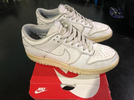Zapatillas Nike Dunk Low White Blancas