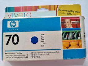 Cartucho Tinta Plotter Hp 70 Azul / Blue C9458a Z3100 Z3200