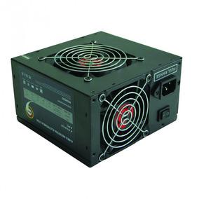 Fonte K-mex Gamer 400w Cooler Cabo Auto Switch Pt400esg