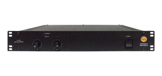 Potencia Amplificador P/ Aeroportos Sansara Sl200 200w