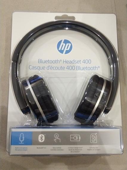 Fone De Ouvido Bluetooth Hp400 Preto