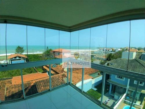 Apartamentos Com Vista Mar, Ouro Verde/ Praia De Costazul, Rio Das Ostras. - Ap0165