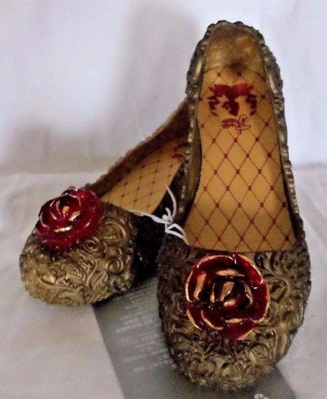 Sapato Princesa Bela Original Disney Store P/entrega