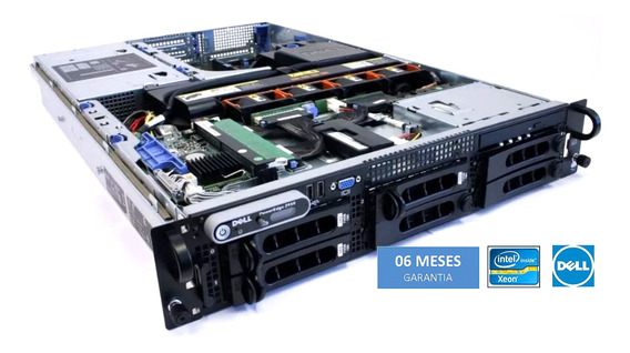 Servidor Dell Básic Rack 2u P2950 2 Xeon Quadcore 16gb Hd1.2