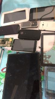 Lote De Celulares E Tablets Para Conserto