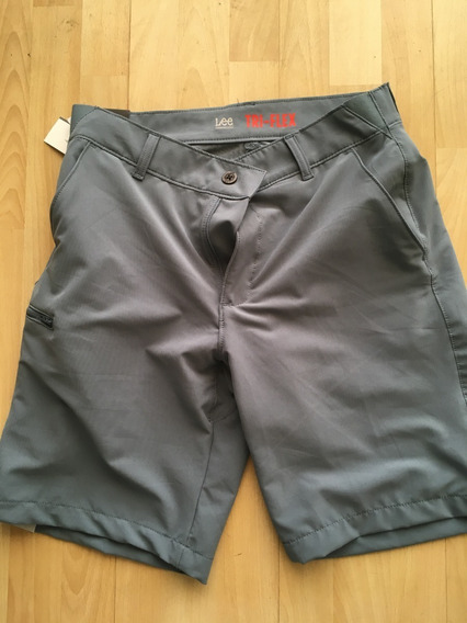 Lee Short ( Chores ) Tri-flex Ajustable Talla 32 Nuevos