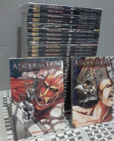 Mangá Ataque Dos Titãs 41 Volumes Completos