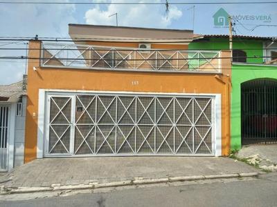 Sobrado Residencial À Venda, Jardim Catanduva, São Paulo. - So0136
