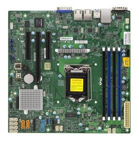 Kit Placa Mãe Supermicro X11ssl-f + 64gb