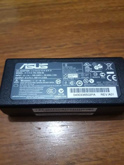 Fonte Notebook Asus 19v 3.42 Pa-1650-66 Original Nova!!!