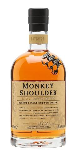 Imagen 1 de 10 de Whisky Monkey Shoulder Blended Malt 700ml 40%alc/vol
