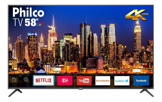 Smart Tv Philco 4k Led 58 Ptv58f60sn Bivolt