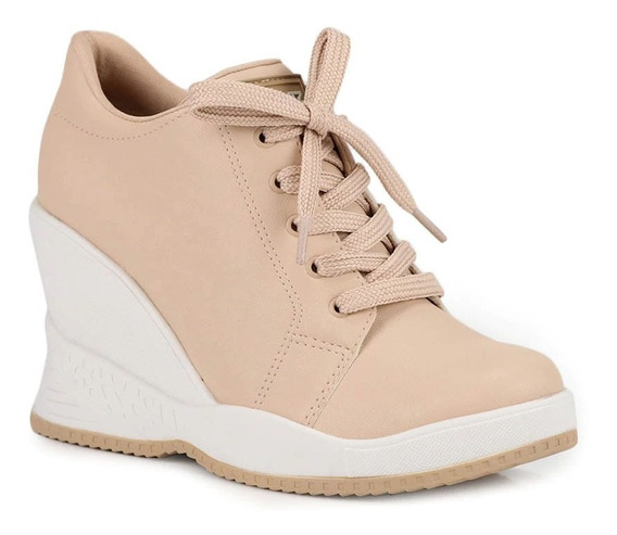 Tênis Quiz 68-37913 19-3302 Via Marte Sneaker Sola Alta