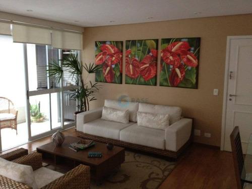 Imagem 1 de 20 de Apartamento Com 2 Dormitórios, 114 M² - Venda Por R$ 780.000,00 Ou Aluguel Por R$ 2.500,00/mês - Vila Andrade - São Paulo/sp - Ap2614
