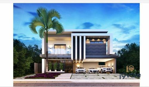 Casa De Luxo Com 4 Suítes  À Venda,- Jardim Do Golfe - São José Dos Campos/sp - Ca2066