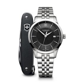 Relógio Victorinox 241801.1 Alliance 40 Prata Original