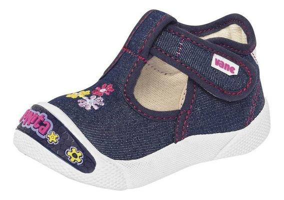 Zapato Kids Vane 643 Niña Bebe Talla 12-16 Color Mezclilla