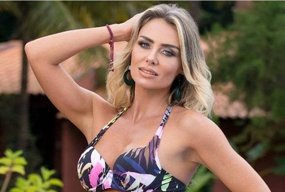 Maiô Saia Embutida Com Bojo Coleção 2019