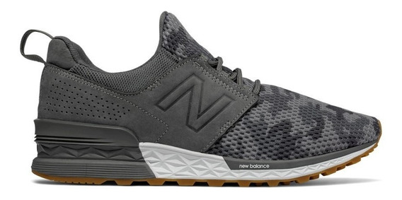 Zapatillas New Balance Ms574dcy - Camuflada/gris