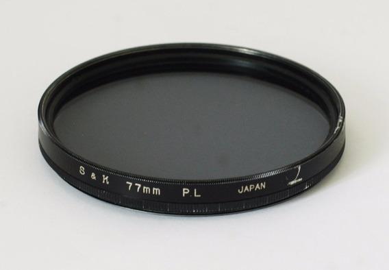 Filtro 77mm P. L S&k