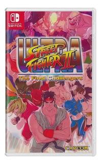 Jogo Ultra Street Fighter Ii Nintendo Card Switch