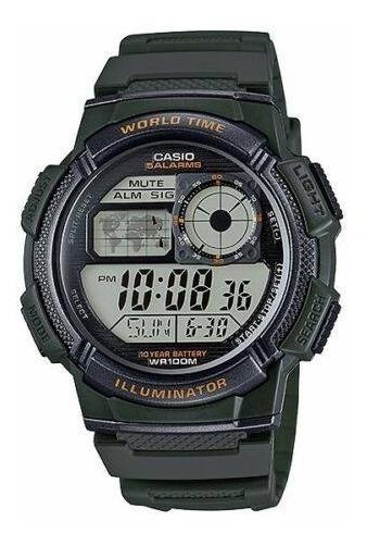 Relógio Casio Ae1000w-3avdf. 100 Metros. 100% Original.