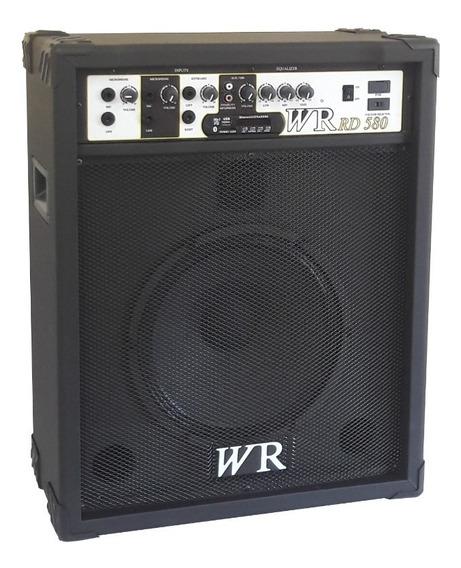 Caixa De Som Amplificada Teclado/guitarra/violão/microfone