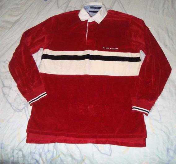 Camisa Polo Terciopelo Tommy Hilfiger Exclusiva 100%original