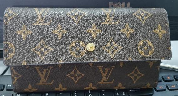 Carteira Louis Vuitton Em Courino