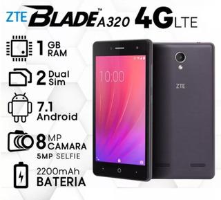 Zte Blade A320 - Flash Frontal - Single Sim - No Doble Chip